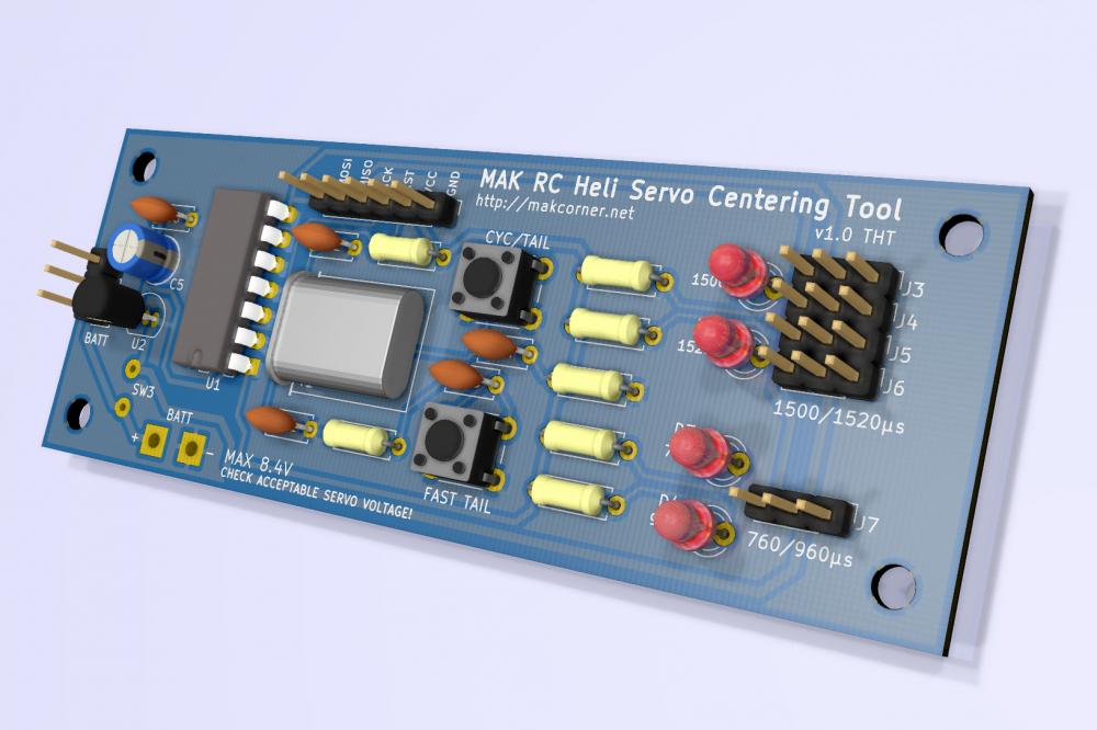 MAK RC Heli Servo Centering Tool
